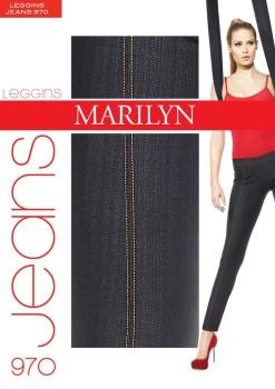 джинсовые леггинсы